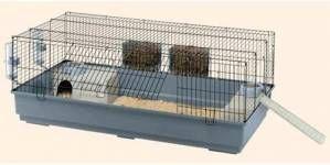 Cómo debe ser una jaula para conejos dentro de la casa