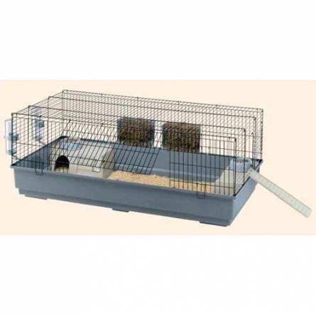 C mo debe ser una jaula para conejos dentro de la casa - Casas para conejos enanos ...