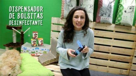 Análisis: Dispensador de bolsas para perros con gel antibacteriano HandiPOD