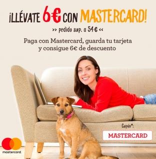 Ahórrate 6 eurazos en tu pedido gracias a Mastercard