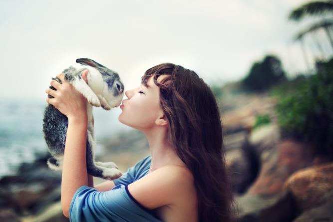 Cómo criar conejos recién nacidos