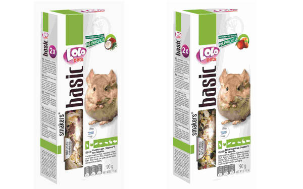 chinchilla smakers barritas lolopets food comida