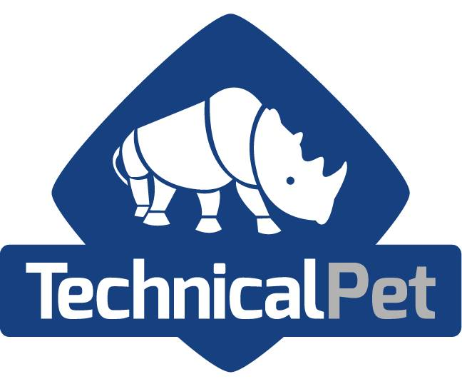 new technical pet logo