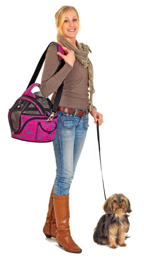 Bag pet carrier pet safe and comfortable bed<p>