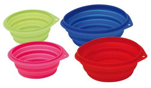 Bowl de silicona flexible para perros