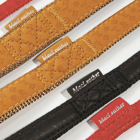 belts for dog Macleather classic detail