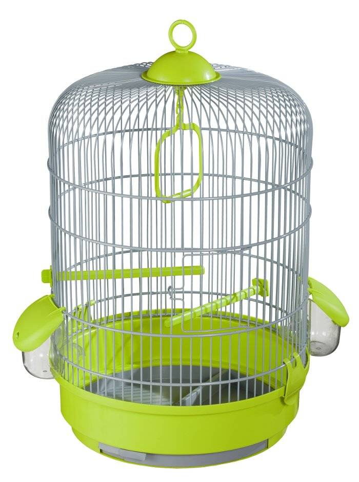 Voltrega 736 round cage for Canaries, nymphs, birds, lovebirds