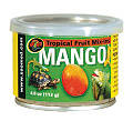 Mango canned in syrup for reptiles