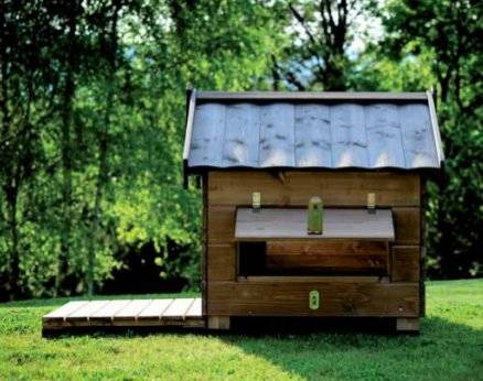 Wooden hut for Mountain dogs cheap free shipping