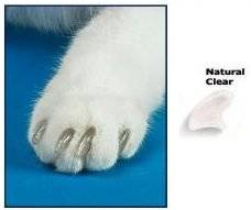 Nail postizas to avoid scratches from my Soft cat claws
