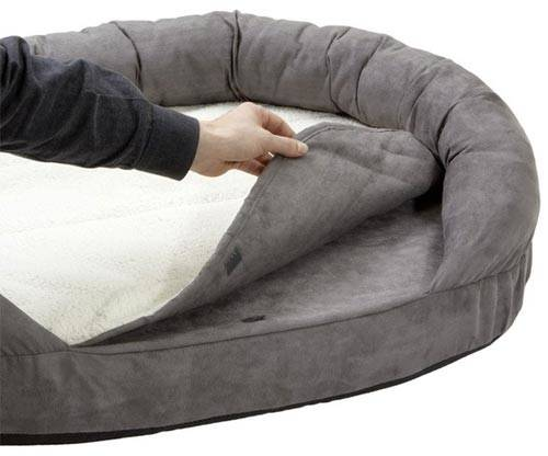 Cama ortop dica para perros technical pet ovalada color for Cama ortopedica