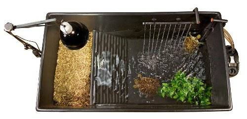 Zoo med tanque de pl stico para tortugas y peces tiendanimal for Kit estanque jardin