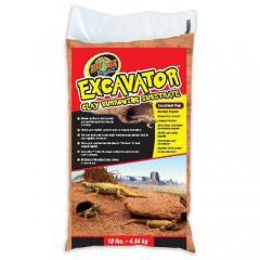 Sustrato arcilloso para reptiles Excavator