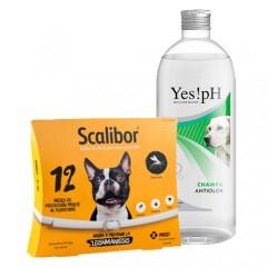 Súper pack antiparasitario Scalibor para perros medianos