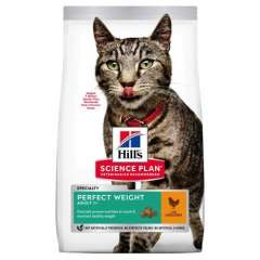 Hill's Science Plan Pienso seco gato adulto Perfect Weight pollo