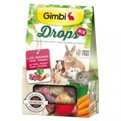 Snacks para roedores GimBi Drops Mix