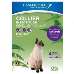Collar antiparasitario natural para gatos Francodex