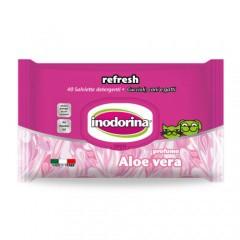 Toallitas Inodorina Refresh Aloe Vera