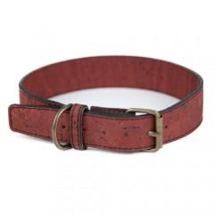Collar de corcho TK-Pet Nature marrón oscuro