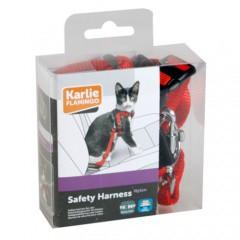 Arnés de seguridad con cinturón para gatos