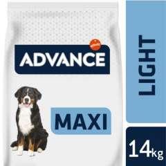 Pienso para perros Advance Maxi Light