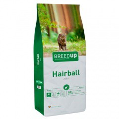 Pienso para gatos Breed Up Hairball