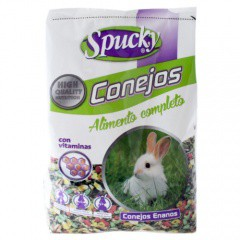 Alimento completo para conejos Spucky