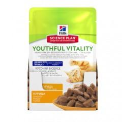Hill's Youthful Vitality 7 húmedo para gatos con pollo