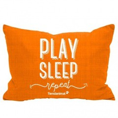 Cama exclusiva 'Play Sleep' Tiendanimal naranja