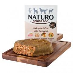 Naturo Senior pavo con arroz para perros