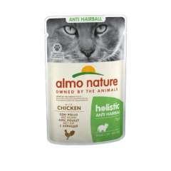 Almo Nature Anti Hairball pollo para gatos