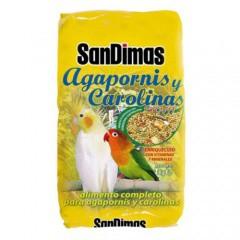 Comida para agapornis y carolinas SanDimas