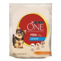 Pienso Purina One Mini Junior Pollo y arroz