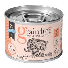Criadores Grain Free húmedo Pavo con gambas para gatos