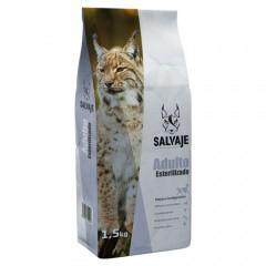 Pienso Salvaje Adulto Esterilizado para gatos