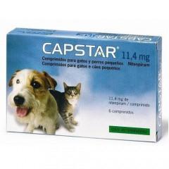 Tratamiento Antipulgas Capstar para perros y gatos