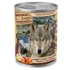 Comida húmeda Natural Greatness Conejo y Pato para perros