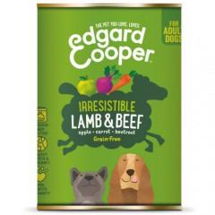 Lata Edgard & Cooper Cordero y Vacuno para perros