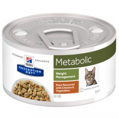 Hill's Metabolic Weight Estofado para gatos