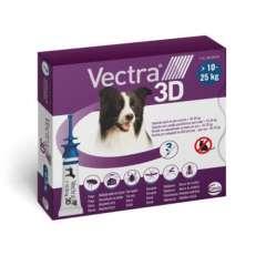 Vectra 3D pipetas para perros 10-25 kg