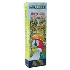 Barritas para loros y cotorras sabor Miel