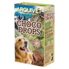 Snacks Choco Drops Arquivet para perros sabor Chocolate