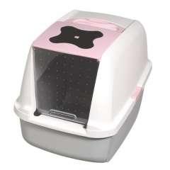 Arenero Catit rosa para gatos