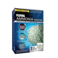 Eliminador de amoníaco para peces