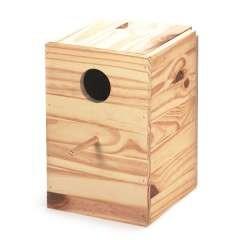 Nido de madera para ninfas