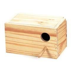 Nido de madera para agapornis