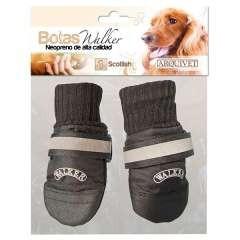 Botas para perros Arquivet Walker ajustables en negro