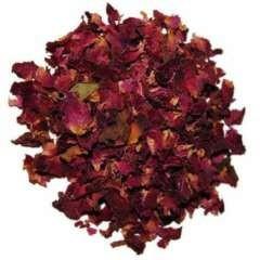 Pétalos de rosas deshidratados para petauros sabor neutro