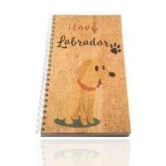 Libreta de corcho 'Labrador'