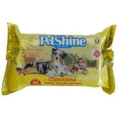Toallitas higiénicas para perro y gato con clorhexidina